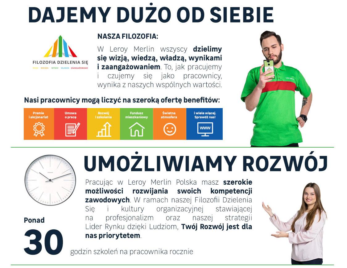 Praca Leroy Merlin Polska Sp Z O O Opinie Oferty Pracy Praca Pl